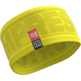 Compressport On/Off Headband yellow